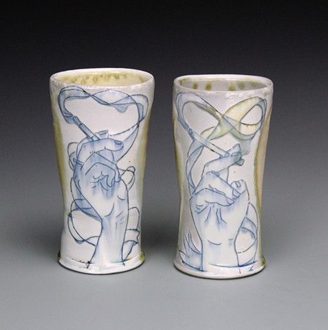 His and Hers Smoking Tumblers
