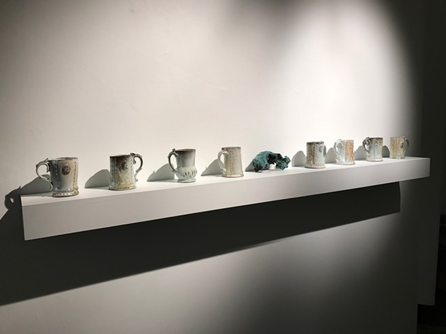Lost age Mugs, Bronze Skull (gallery shot)