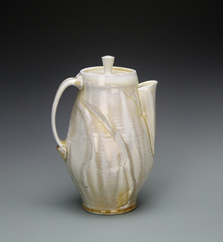 Coffee Pot in Cream