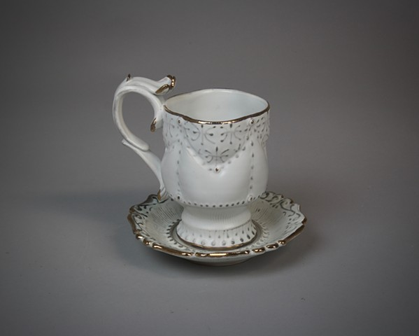 Lost Age Teacup and Saucer