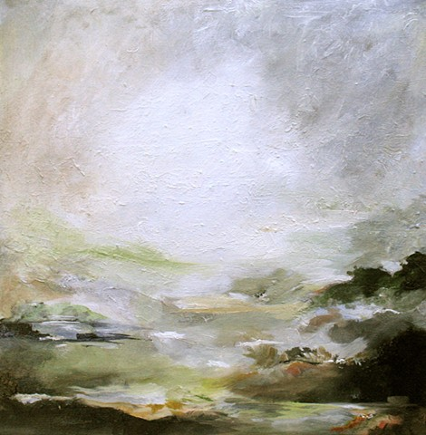 Ireland,landscape,Waterford,oIL PAINTING