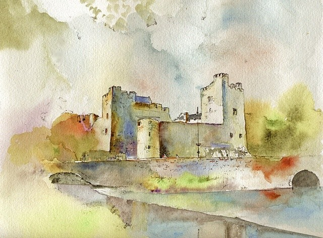 Cahir Castle Co. Tipperary Impressions series