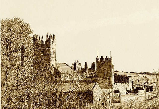 Walled Towns, Fethard, Tipperary, Ireland, Print,