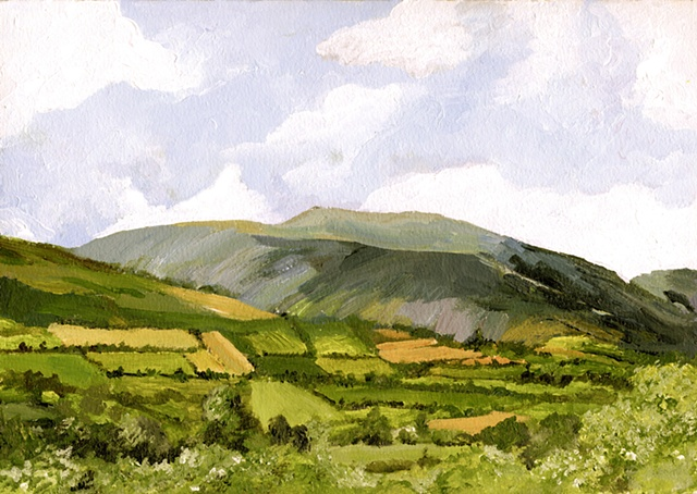 Galtee Mountains,Suir Valley, County Tipperary,war of independence, Highest mountain, Ireland,