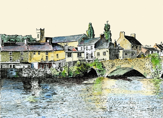 Old Bridge Carrick on Suir