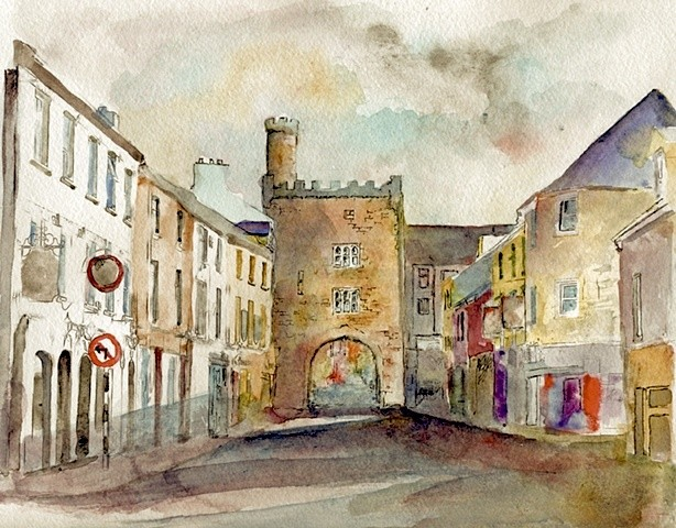 West Gate Clonmel Early Morning