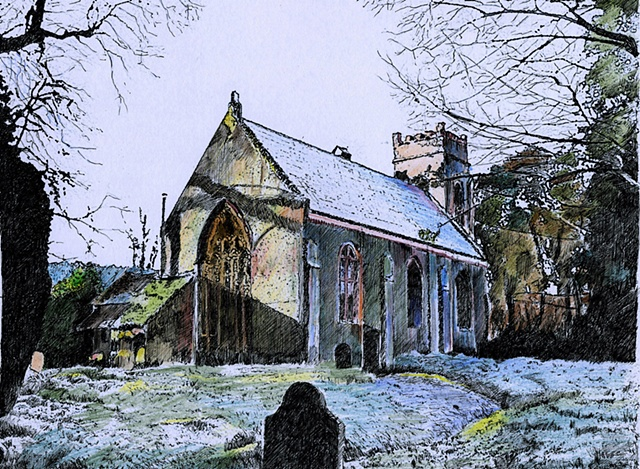 Marlfield Church 'Winter