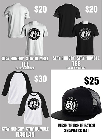 Stay Hungry Stay Humble Apparel