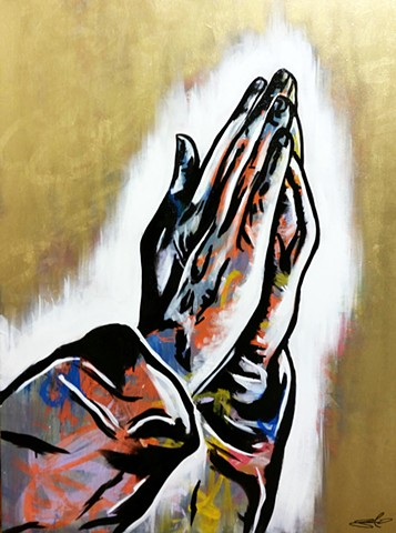 """Hands of Prayer"""