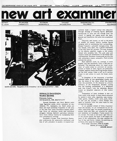 The New Art Examiner Review
