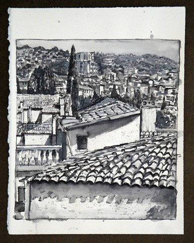 Travel Drawing:  Cesme, Turkey