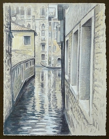 Travel Drawing: Venice