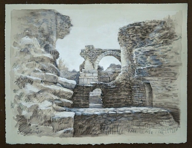 Travel Drawing: Miletus, Turkey