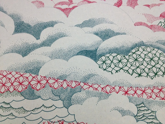 Biwa, detail