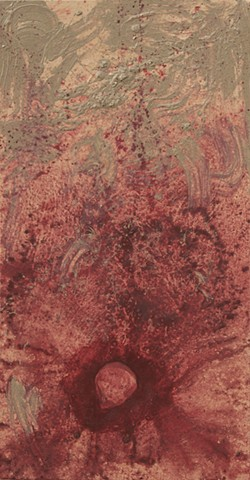 Blood and Clay, Creationism, Creation Story, Genesis, God, Humanity, humankind, Life, Religion, Global Religion, Ancient Religious Text, Oil on Canvas, Painting, Elizabeth Fonacier, Brooklyn, New York Fine Arts, Fine Artist