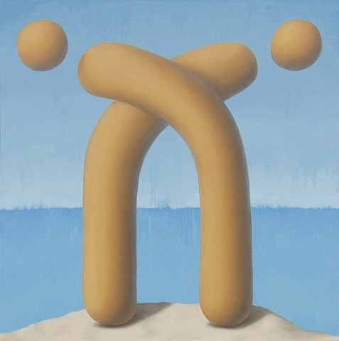 Picasso Surrealist, Picasso Painting, Symbol, Surreal Painting, Surrealism, Shape, Key, Sea, Beach, Seascape, Art, Artwork, Seascape