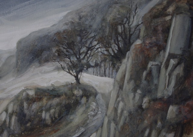 Snowdonia, Wales, Watercolour