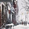 Snow scene: Ontario Street, Stratford. Ontario.