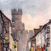 Castle, Caenarfon, Wales.
