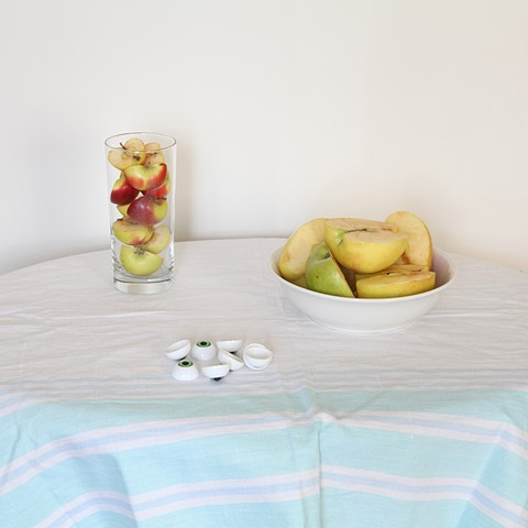 Still Life with Apples and Eyeballs