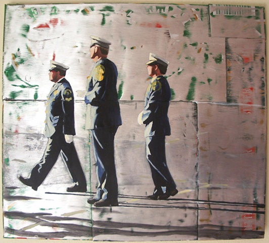 Three Policeman