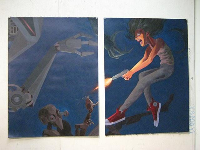Student work from Art 305 Class