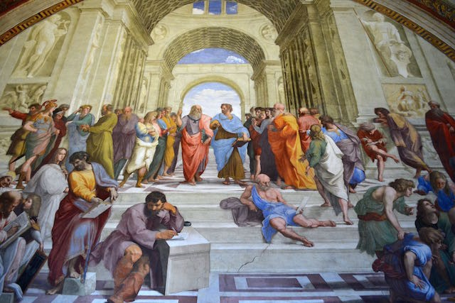 Vatican City, Italy  (The School of Athens)