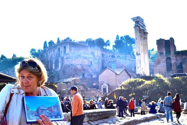 Rome, Italy (Tour Guide at Palentine Hill)