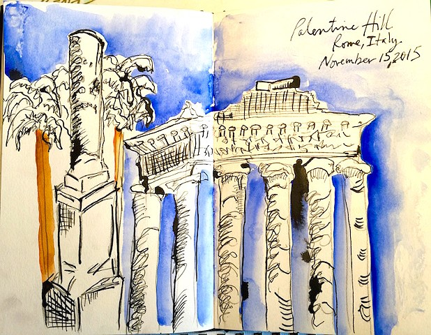Rome, Italy — My sketches