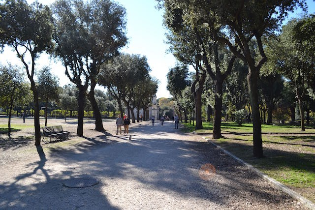 Rome, Italy — Parco Borghese