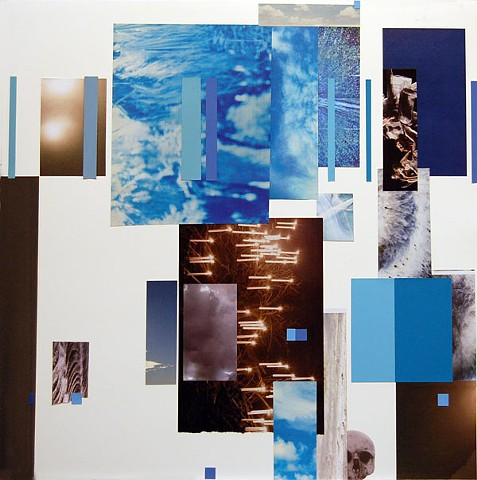 Collage with Requiem in Blues
