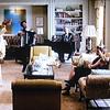 Tha Nanny Diaries, 2007 Scarlett Johansson in scene with Julian Jackson painting