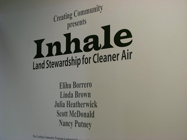 Art Council of Kern County Art Residency - Creating Community Inhale Exhitibiton