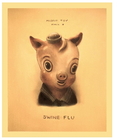 Swine Flu Misfit Toy