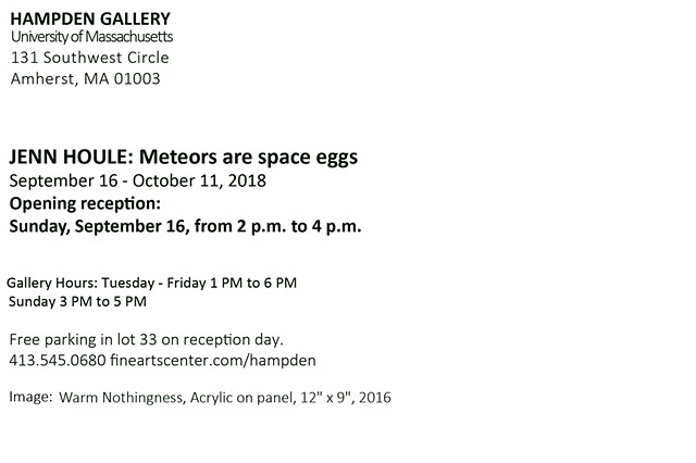 Meterors Are Space Eggs