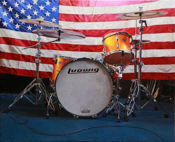 Bretts Drumset
