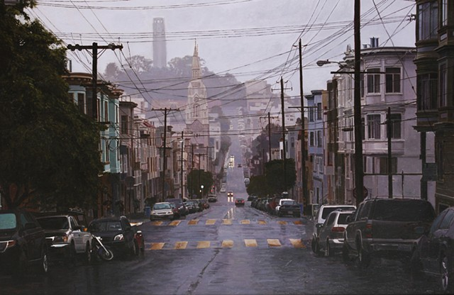 Morning Rain in North Beach