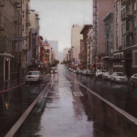 Rain on Geary #2