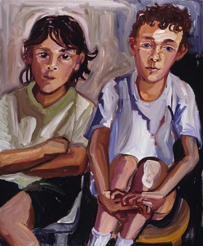 Nathan and Isaac