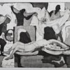 Laundromat - girl on chair with figures