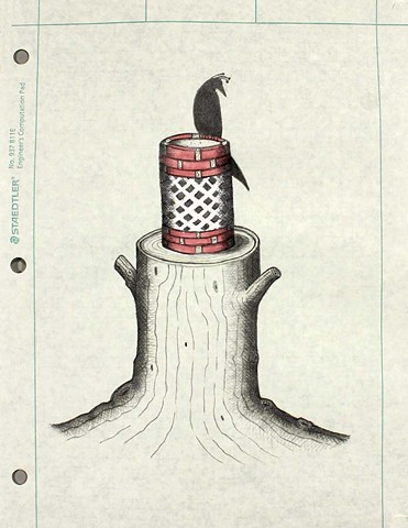 ROMA Series: Black Bird Column