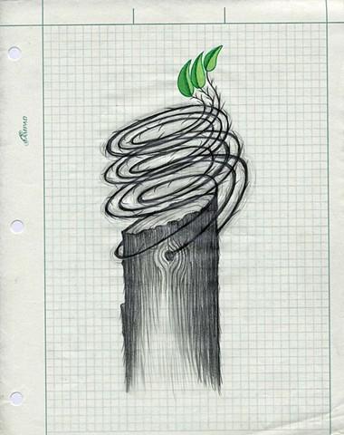 TREES: Swirled Vines