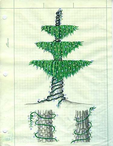 TREES: Draped