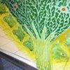 MIMIC-MIMIC-detail of Luna Moths surrounding Cyprus Tree