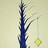 TREE: BLUE SILHOUETTE: Kite