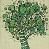 TREE: SPINNER: RED DOT