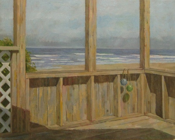 Porch by the Ocean