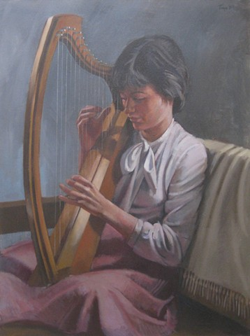 The Harp Player