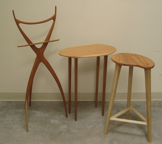 Various furniture pieces