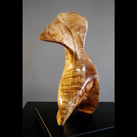 Koa wood, wood sculpture, Maui, Hawaii